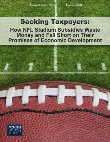 Sacking Taxpayers