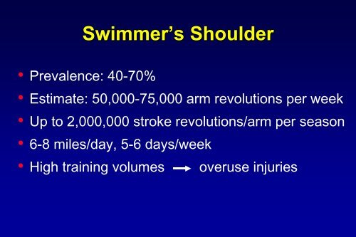 USA Swimming webinar_Shoulder in Swimming
