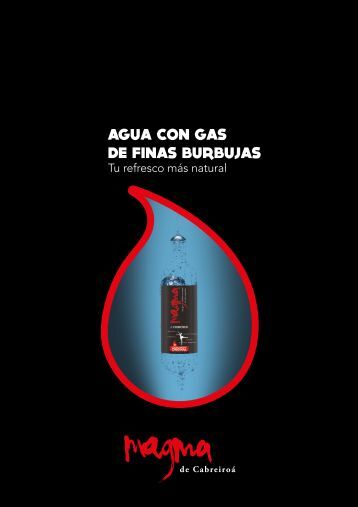 AGUA CON GAS DE FINAS BURBUJAS
