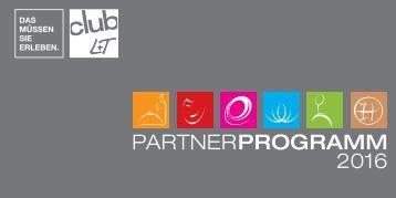 L+T CLUB PARTNERPROGRAMM 2016