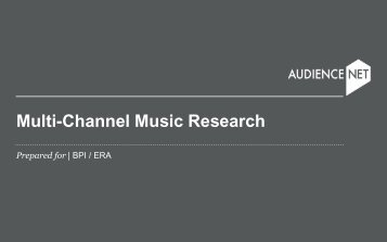 Multi-Channel Music Research