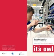 it's OWL Technologietransfer - Fit für Industrie 4.0 werden (2016)