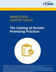 The Catalog of Assister Promising Practices