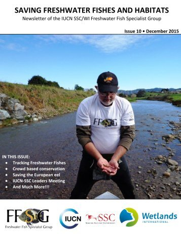 SAVING FRESHWATER FISHES AND HABITATS