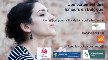 Comportement des fumeurs en Belgique