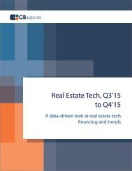 Real Estate Tech Q3'15 to Q4'15