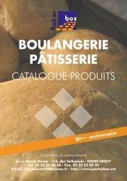 Notre catalogue Bakerbox