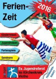 Ferienzeit-Prospekt 2016