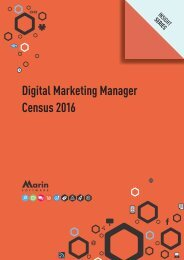 Digital Marketing Manager Census 2016