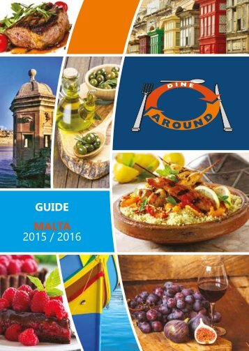 Dine Around Malta Guide 2015-2016