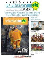 Countrywide Austral National Emergency Response Volume 29 No 1 Summer 16