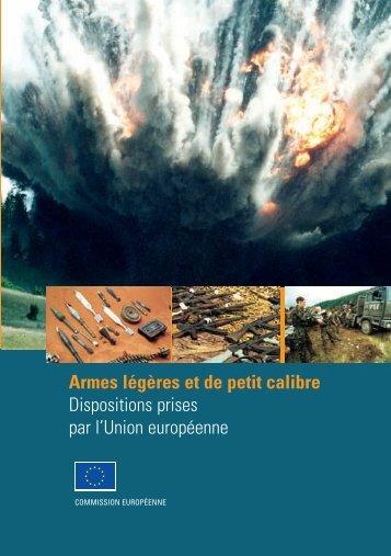 Armes légères et de petit calibre - the European External Action ...