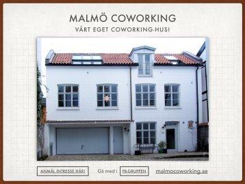 MALMÖ COWORKING