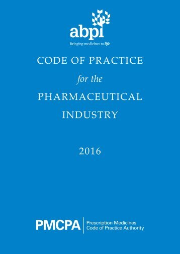 PHARMACEUTICAL INDUSTRY 2016