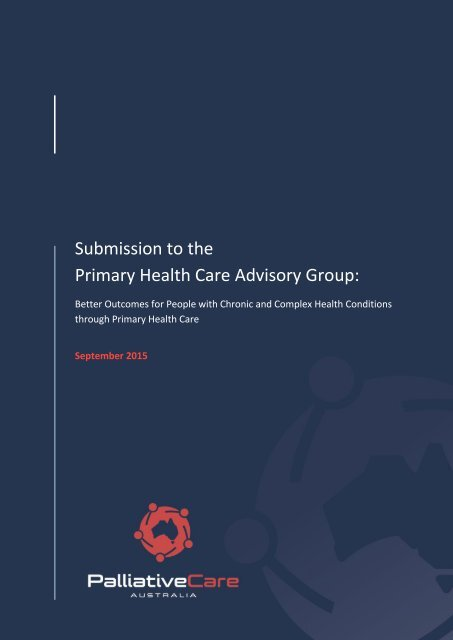 Primary Health Care Advisory Group