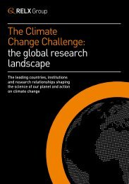 Change Challenge the global research landscape