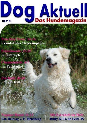 Dog Aktuell Das Hundemagazin/1-2016