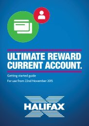 ULTIMATE REWARD CURRENT ACCOUNT