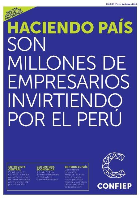 empresarios invirtiendo por el Perú