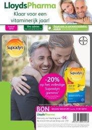LloydsPharma Januari Flyer (NL)