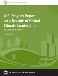 U.S Mayors Report on a Decade of Global Climate Leadership
