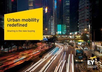Urban mobility redefined