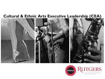 Cultural & Ethnic Arts Executive Leadership (CEA)