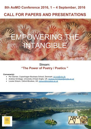 EMPOWERING THE INTANGIBLE
