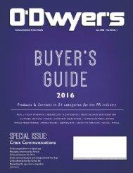 Communications & New Media Jan 2016 Vol 30 No 1