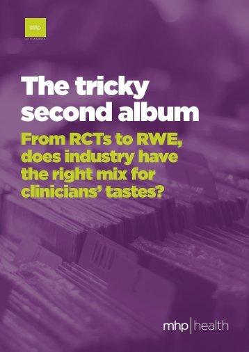 The tricky second album
