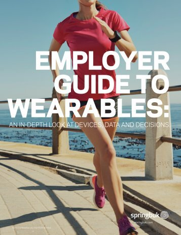 EMPLOYER GUIDE TO WEARABLES