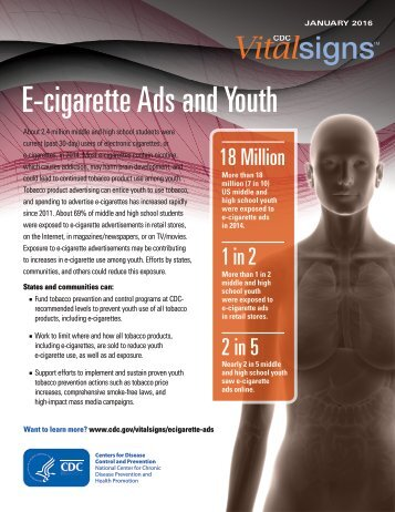 E-cigarette Ads and Youth