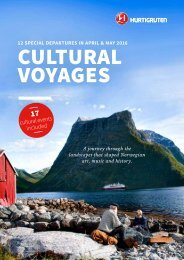 CUlTURAL voyages