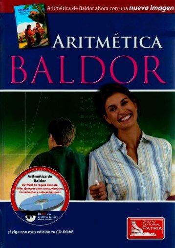 Aritmetica de  Baldor 2da Edición