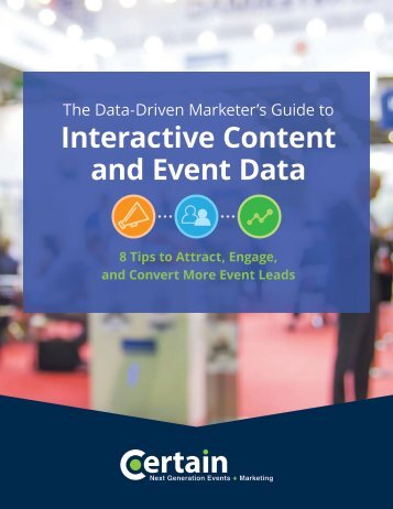 Interactive Content and Event Data