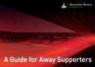 A Guide for Away Supporters