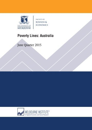 Poverty Lines Australia June Quarter 2015