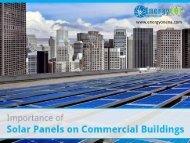 Importance of Commercial Solar Installation in Kansas City
