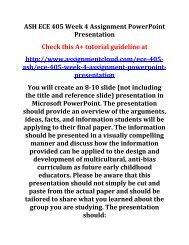 ECE 405 Week 4 PowerPoint Presentation