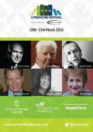 10th - 23rd March 2016