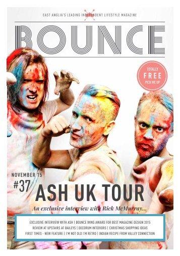 Bounce Magazine November 2015