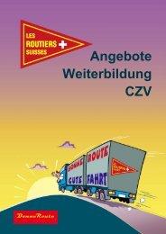 Angebote Weiterbildung CZV - Les Routiers Suisses