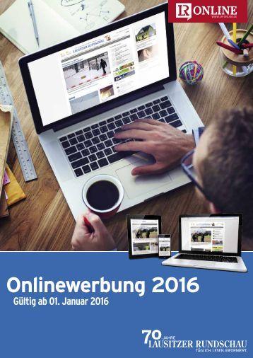 Onlinewerbung 2016 auf LR-Online.de