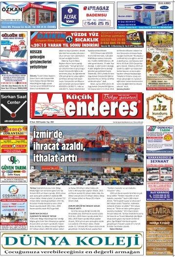 İzmir'de ihracat azaldı ithalat arttı