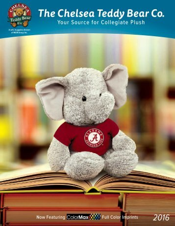Chelsea Teddy Bear Co. 2016 Catalog_no-price