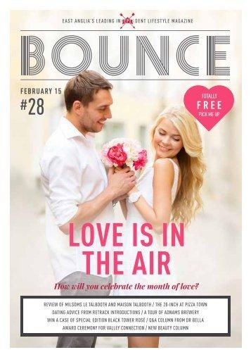 Bounce Magazine February 2015
