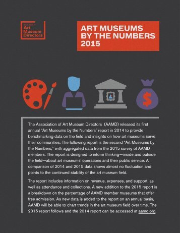 BY THE NUMBERS 2015