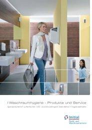 Elite und Metal-Look finden Sie hier - bei Initial Waschraumservice