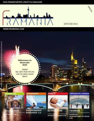 Framania Magazin Ausgabe Januar  2016
