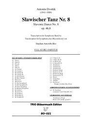 Slawischer Tanz Nr. 8 - Demopartitur (BO-021)
